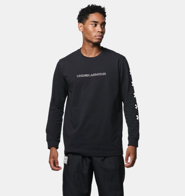UA HEAVY WEIGHT CHARGED COTTON LONG SLEEVE SHIRT T