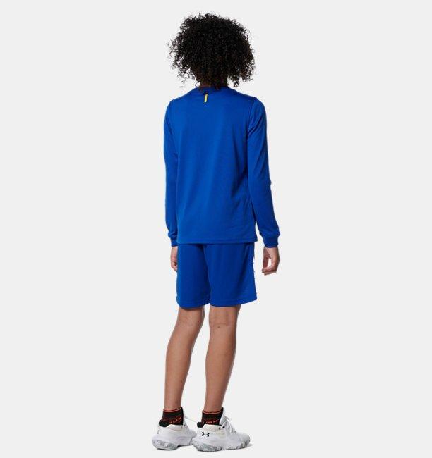 カリー テック ロングスリーブ Tシャツ カリーロゴ(バスケットボール/KIDS)