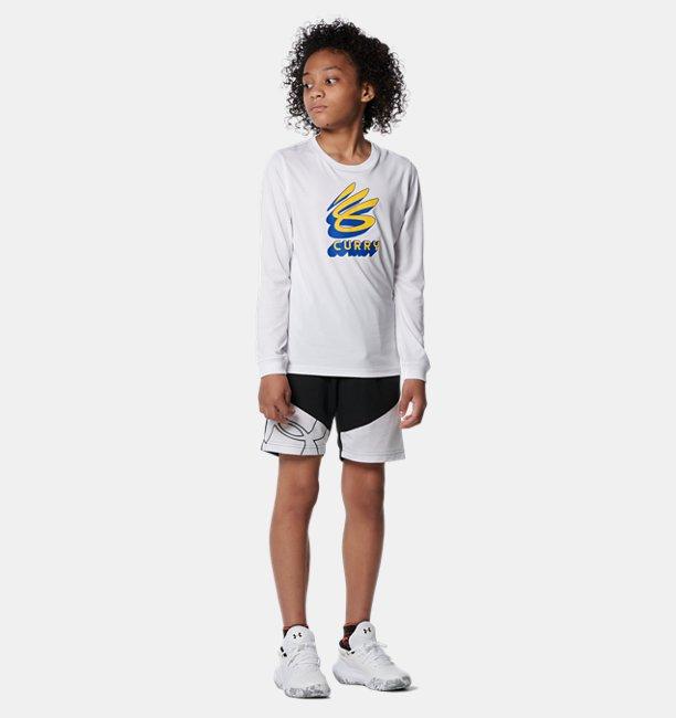 UAショーツ ビッグロゴ(バスケットボール/KIDS)