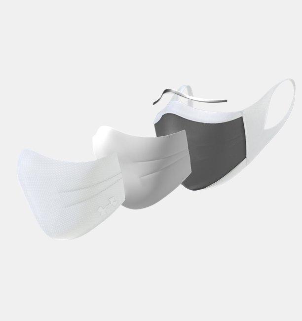UAスポーツマスク ホワイト(トレーニング/UNISEX)