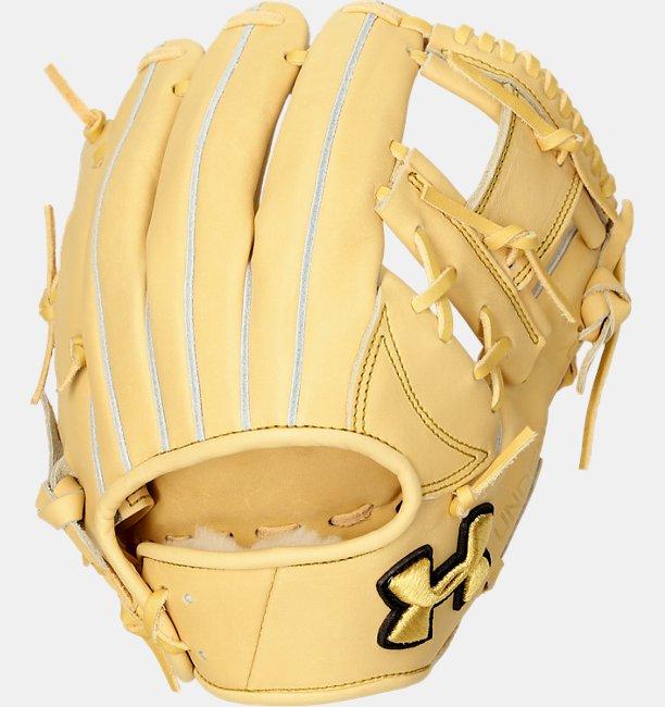 UA HB Infielder Glove R Camel LT