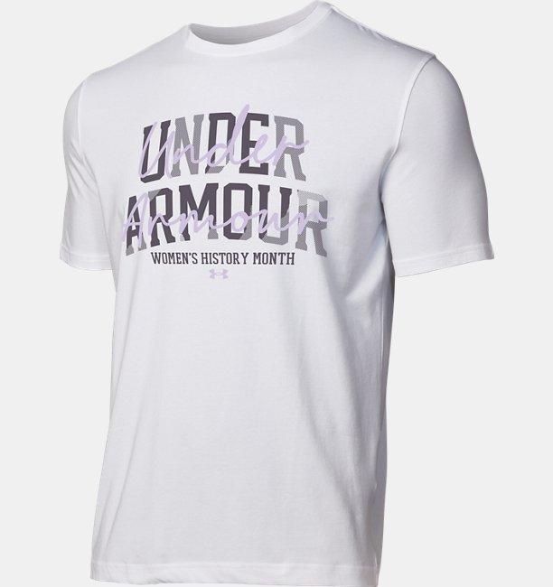 UAウィメンズ ヒストリーマンス Tシャツ (トレーニング/WOMENS)