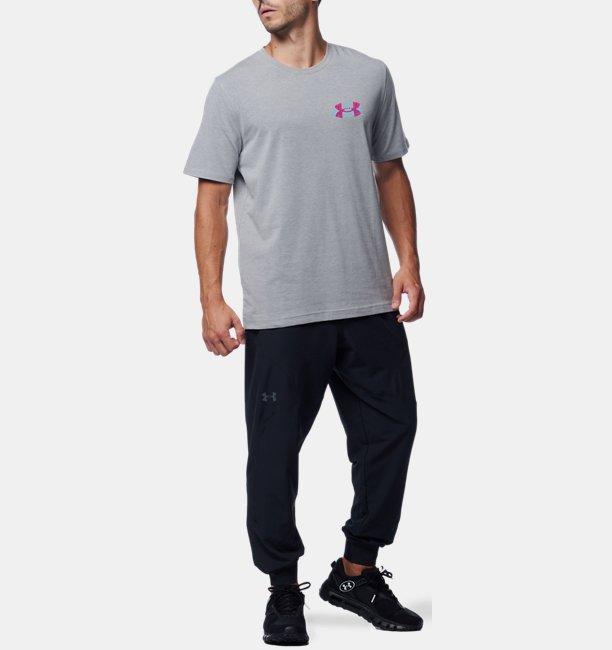 UAレトロ ブランド ロゴ ショートスリーブ Tシャツ(トレーニング/UNISEX)