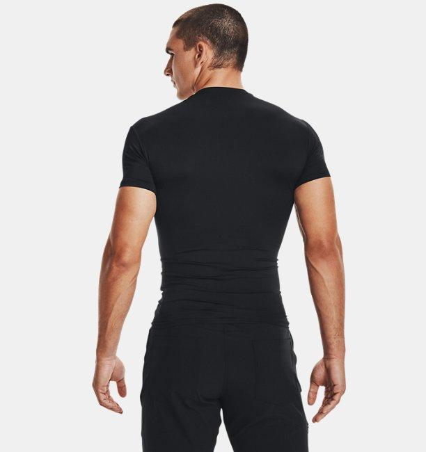 Mens Tactical HeatGear® Compression Short Sleeve T-Shirt