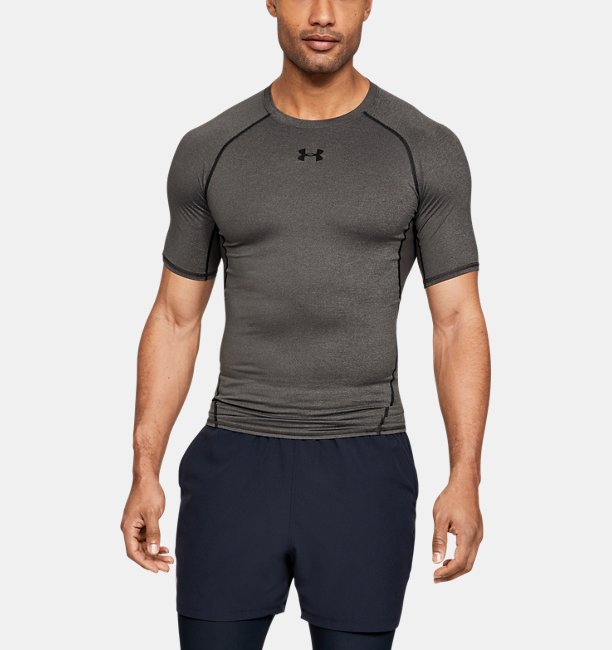 Men's HeatGear® Armour Short Sleeve Compression Shirt