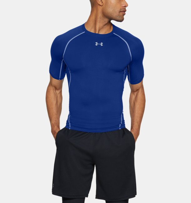Mens HeatGear® Armour Short Sleeve Compression Shirt