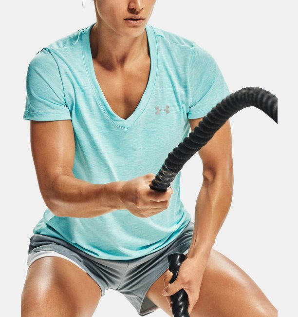 Womens UA Tech™ Twist V-Neck