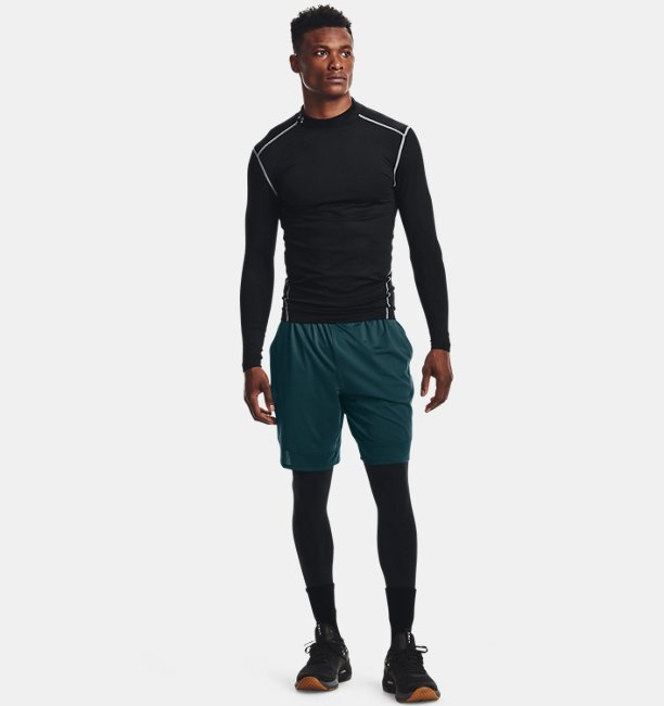 Mens ColdGear® Armour Compression Mock