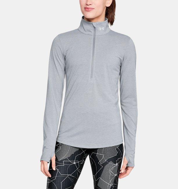 Damen Laufshirt Threadborne™ Streaker mit ½ Zip   Under Armour AT 98bf00fd11