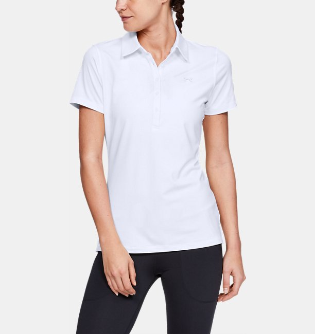 f64aba34 Women's UA Zinger Short Sleeve Polo | Under Armour SG