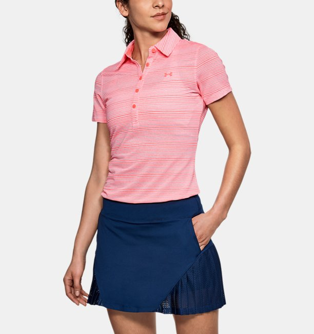Womens UA Zinger Printed Polo