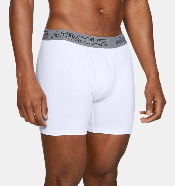 Mens Charged Cotton® Stretch 15 cm Boxerjock® – 3-Pack