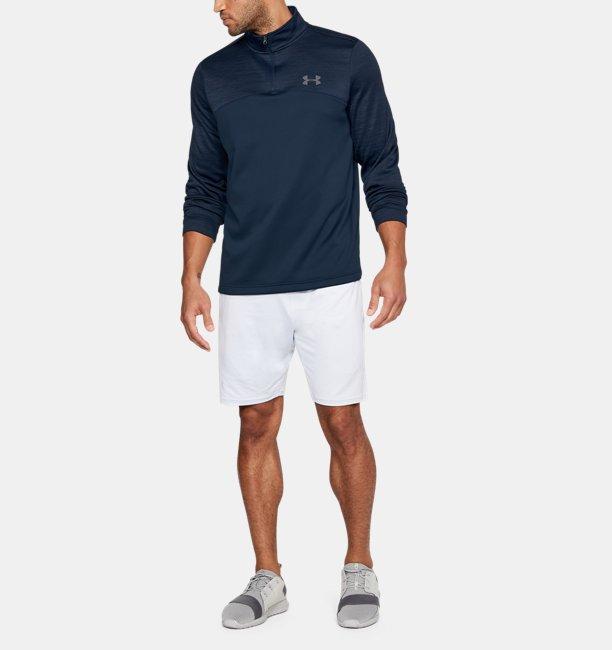 8464c0765cd54 Blusa ¼ Zip UA Storm Armour® Fleece Masculina
