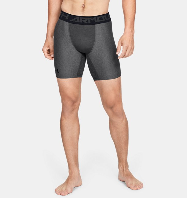 Mens HeatGear® Armour Mid Compression Shorts