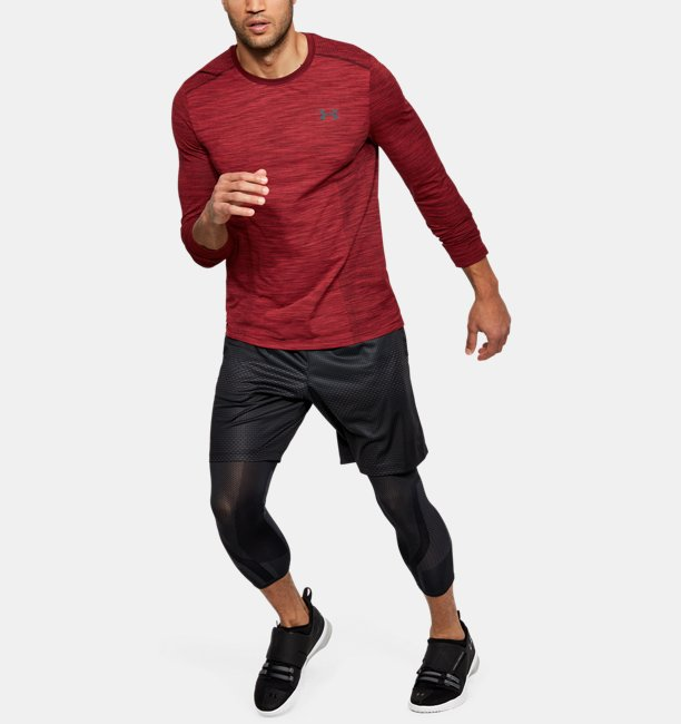 Mens UA Threadborne Seamless Long Sleeve T-Shirt