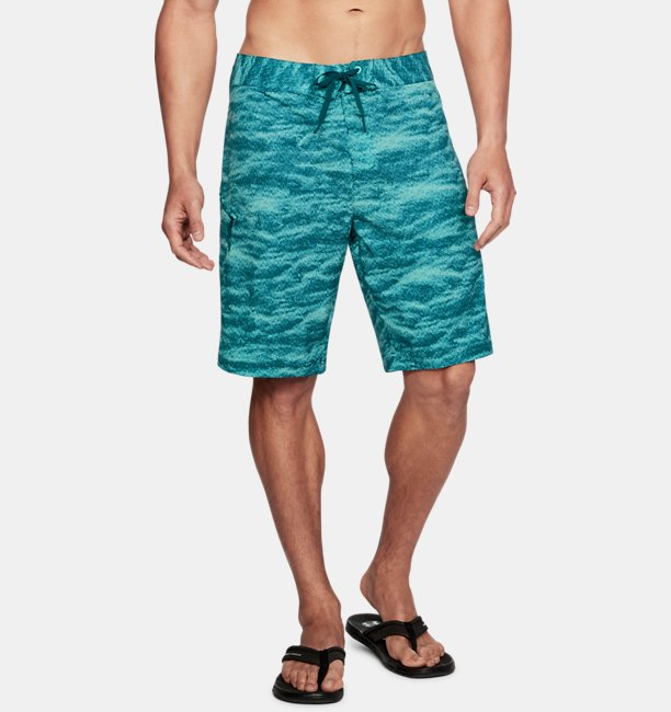Mens UA Stretch Printed Boardshorts