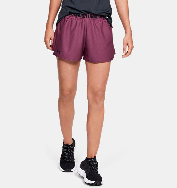 Celana Pendek UA Play Up 2.0 untuk Wanita