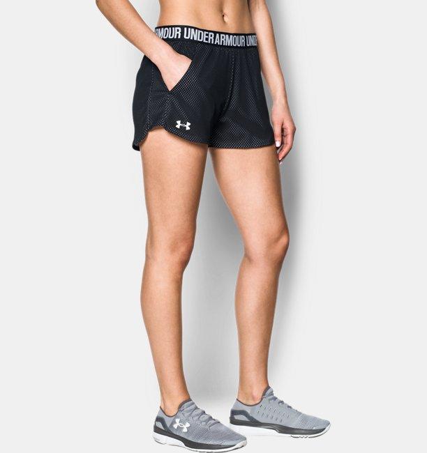 Womens UA Play Up Shorts 2.0 - Mesh