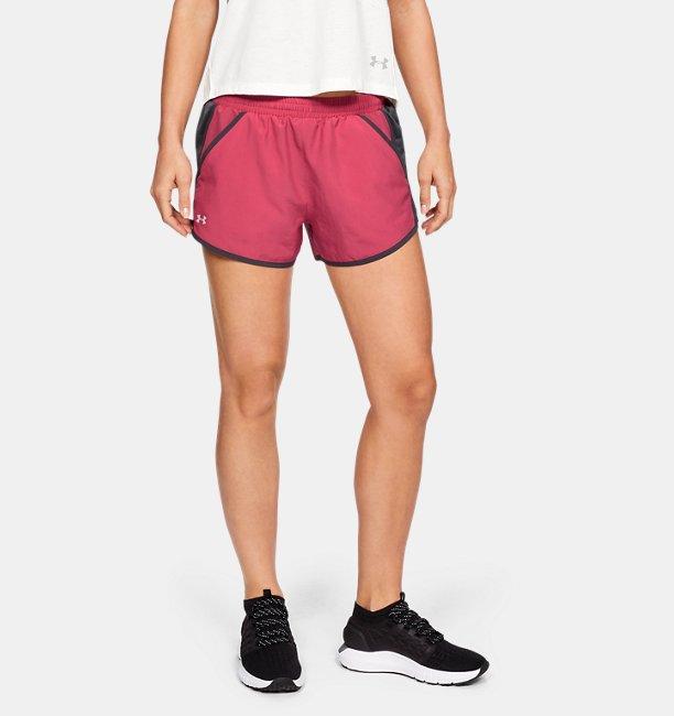 Shorts UA Fly-By para mujer