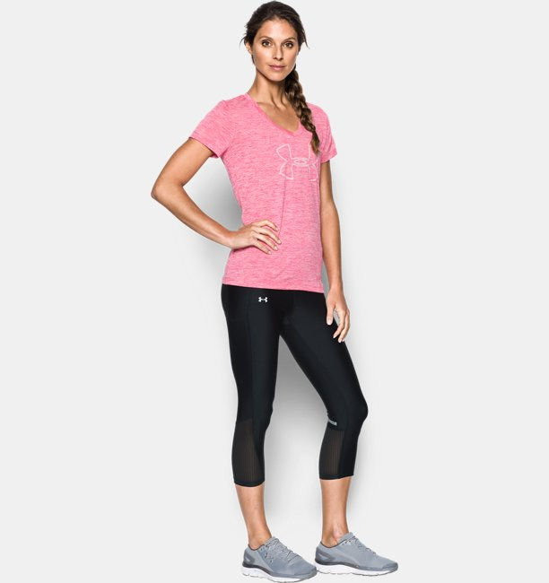 Womens UA Fly-By Capris