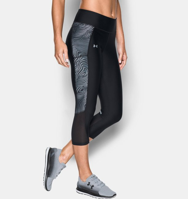 cd43f750fd9819 Women's UA Fly-By Printed Capris | Under Armour AU