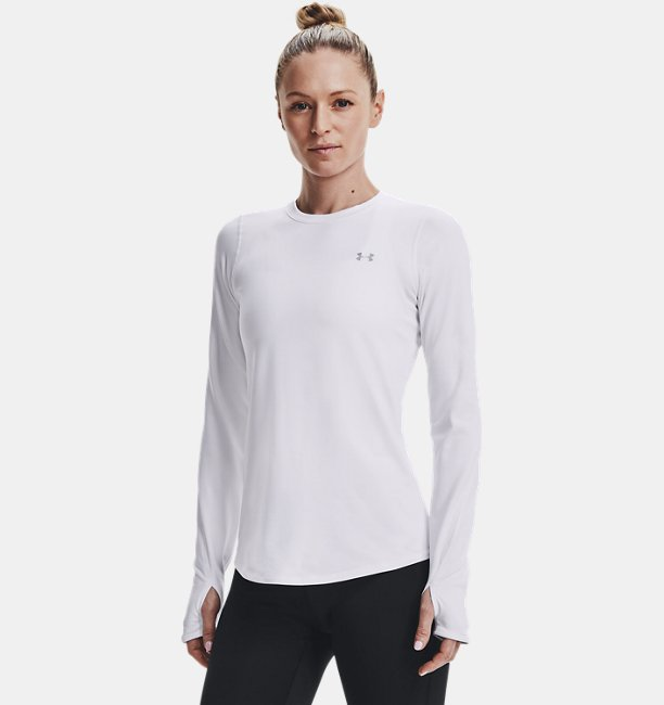 Womens ColdGear® Armour Fitted Crew