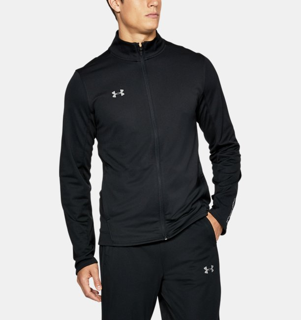 Mens Challenger Knit Warm-Up Jacket