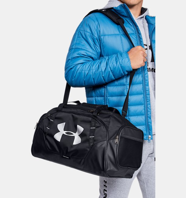 Mens UA Undeniable 3.0 Small Duffle Bag