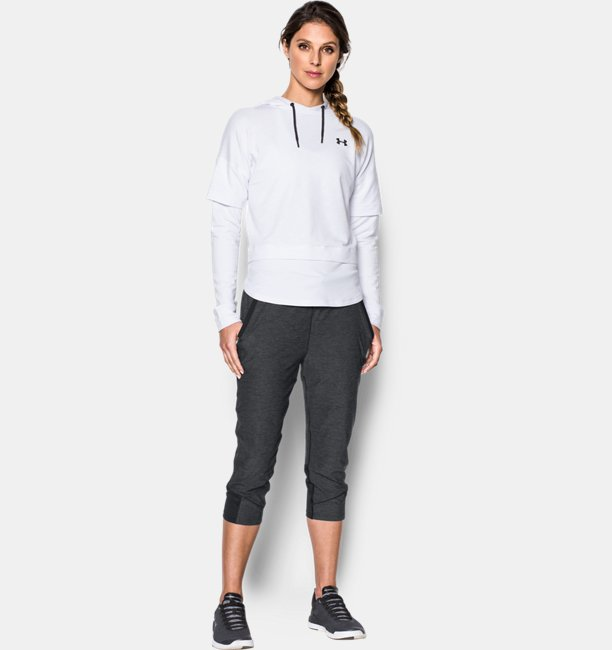 Womens UA Armour Sport Twist Crop