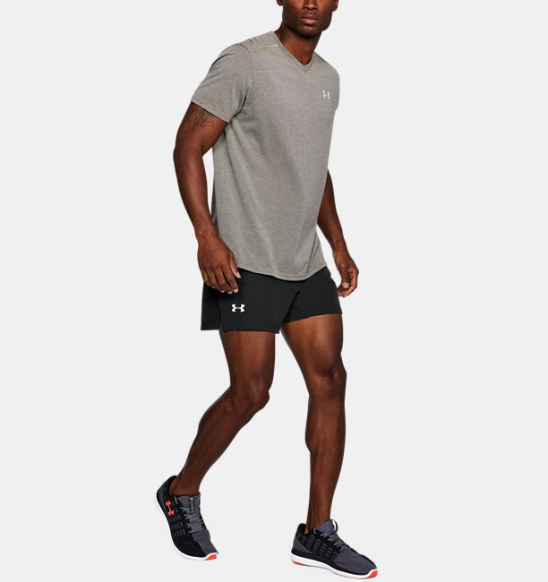 Mens UA Speedpocket Swyft 5 Shorts