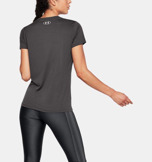 Womens UA Tech™ Metallic Graphic V-Neck