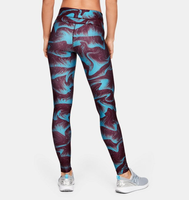 Womens HeatGear® Armour Printed Leggings