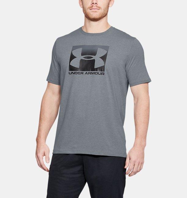 Mens UA Boxed Sportstyle T-Shirt