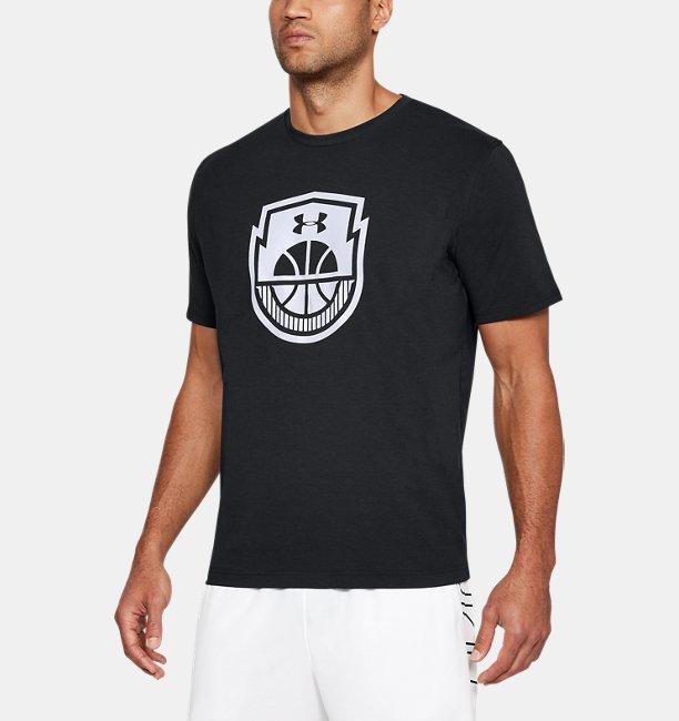 Camiseta Masculina UA Basketball Logo