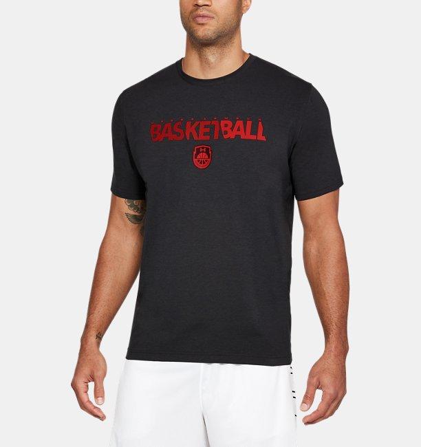 Mens UA Basketball Wordmark T-Shirt