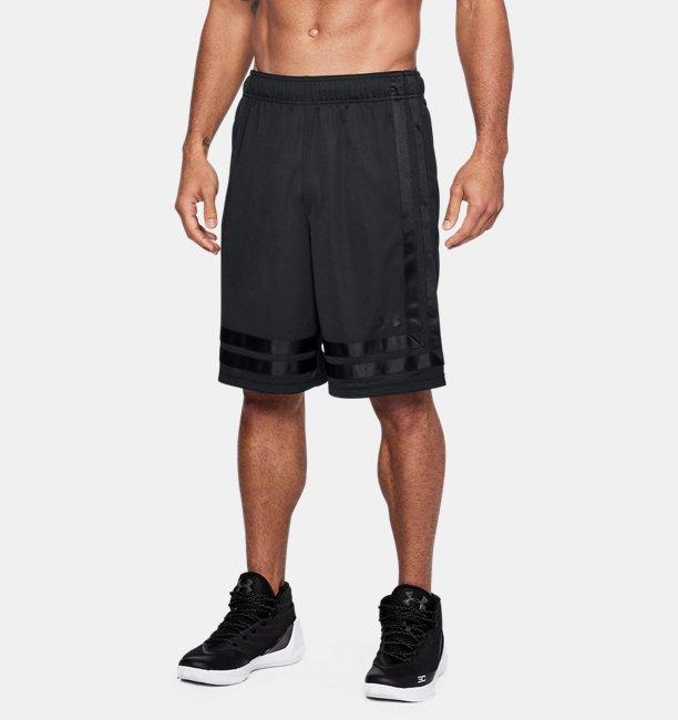 Short 18 UA Baseline entrejambe 25cm pour homme