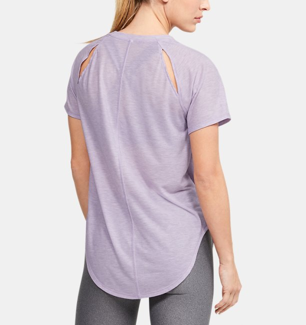 Womens UA Breathe Short Sleeve