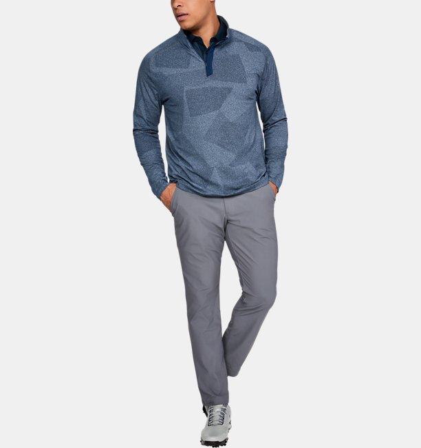 Camisa Polo UA Threadborne Pique Masculina