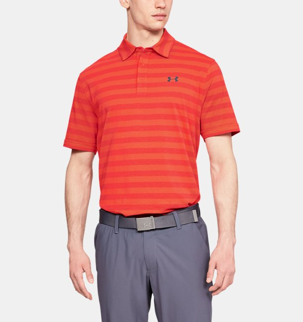 35fcff15f5e9b Men s Charged Cotton® Scramble Stripe Polo   Under Armour SG