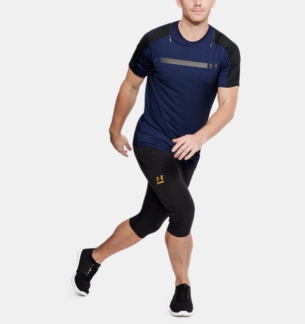 Mens UA Perpetual Fitted Short Sleeve