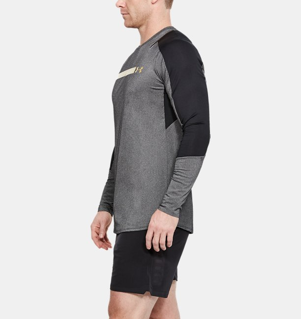 Mens UA Perpetual Fitted Long Sleeve