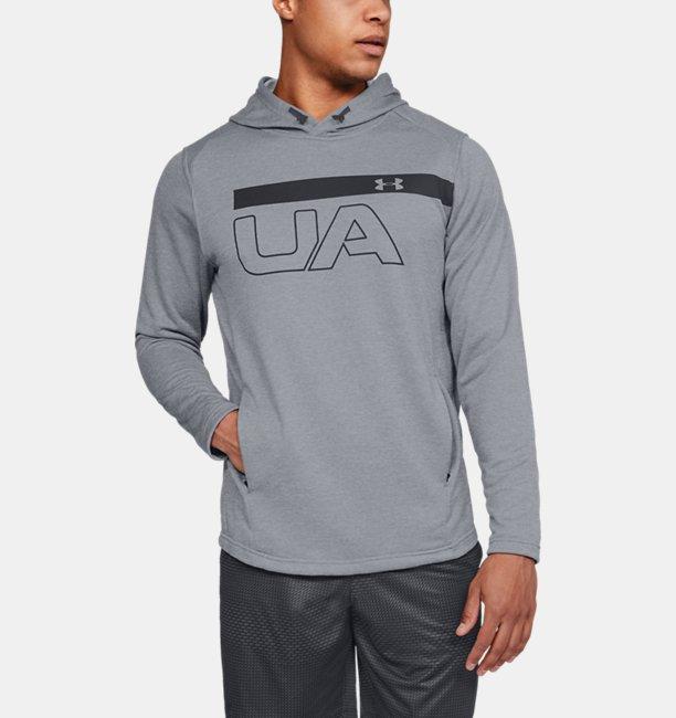 Mens UA MK-1 Terry Graphic Hoodie