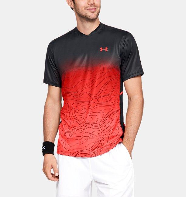 【アウトレット】UA フォージショートスリーブクルー(テニス/MEN)