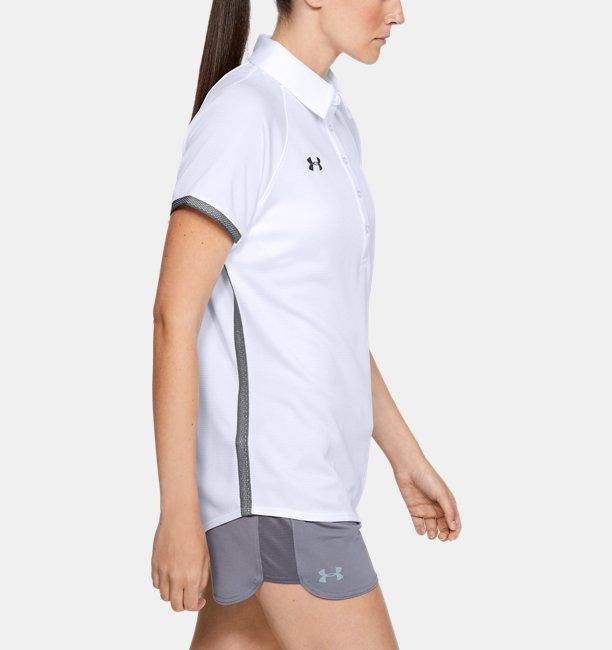 Playera Polo UA Rival para Mujer