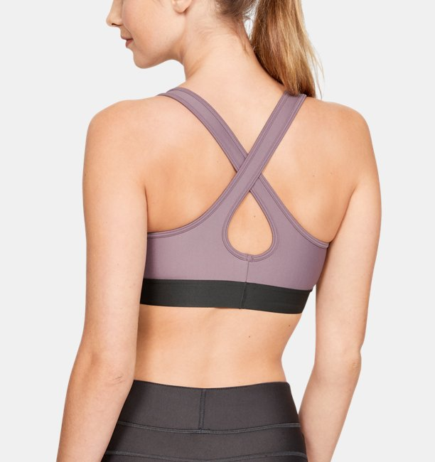 sale retailer eb4a4 b038a Womens Armour® Mid Crossback Sports Bra