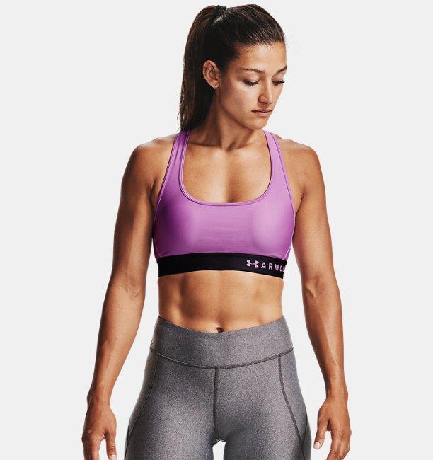 Womens Armour® Mid Crossback Sports Bra