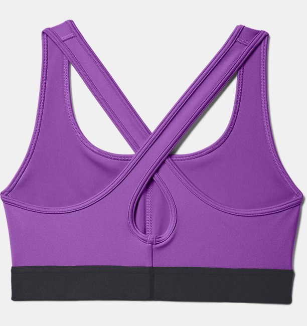 Womens Armour® Mid Crossback Sports Bra