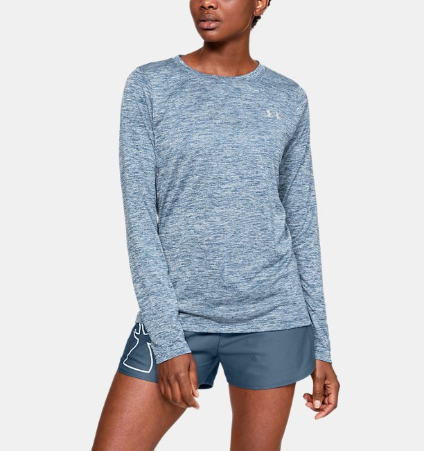 Women's UA Tech™ Twist Crew Long Sleeve