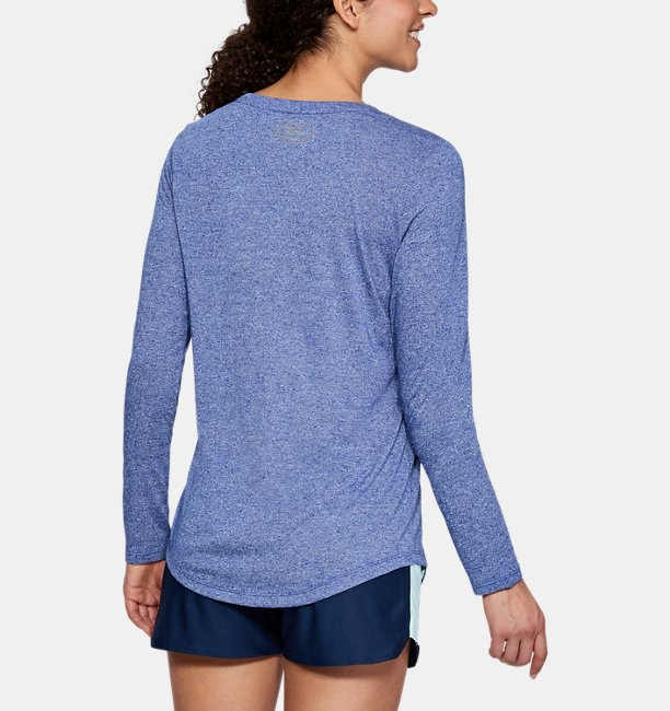 Womens UA Threadborne™ Twist Long Sleeve Crew