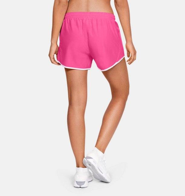 Womens UA Fly-By Shorts Linerless